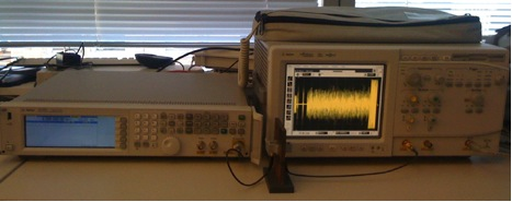 Figure 1: Ultrasonic Physical Layer Testbed