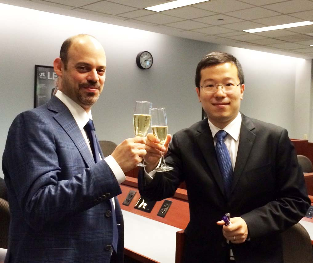 Congratulations to Dr. Guannan Chen and to Dr. Mohammad Islam!